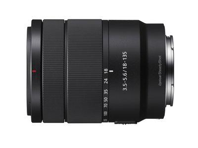 Sony 18-135 mm ƒ3,5-5,6 OSS, nuevo objetivo zoom estándar para cámaras de formato APS-C y montura E