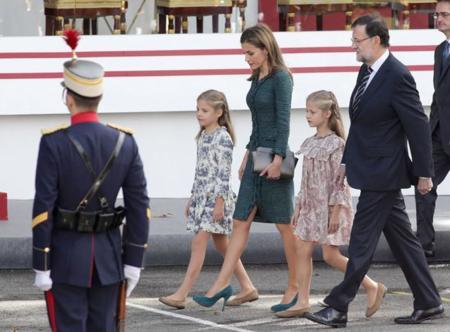 Reina letizia día de la Hispanidad 2014