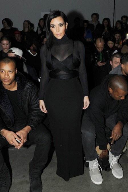 Kim Kardashian Nyfw 2015