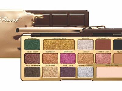 Lo nuevo de Too Faced se baña de oro y chocolate, ¡y es irresistible!