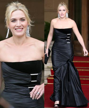 Kate Winslet en la fiesta que Lancôme dió en su honor