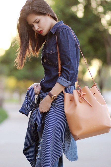 Mansur Gavriel Bucket Bag 2015 2