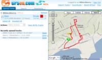 GPSed, aprovechando el GPS de la Blackberry para hacer seguimientos
