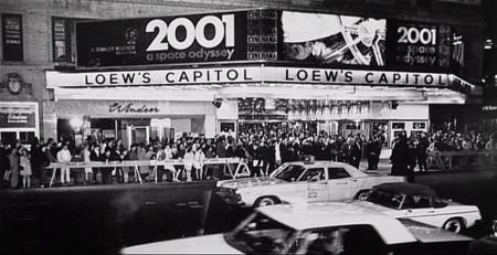 El estreno de 2001