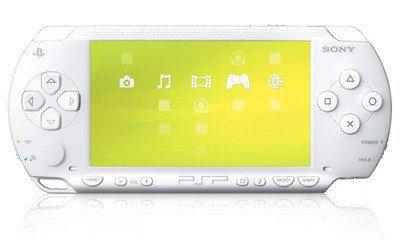 Ya está aquí la PSP blanca