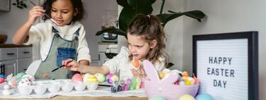 21 manualidades de Pascua fáciles y bonitas para hacer con los niños en Semana Santa