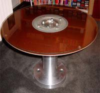 Hard Drive Coffee Table recicla tecnología en decoración