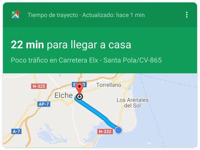 Cómo establecer la dirección de casa y el trabajo en Google Maps para Android