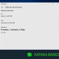 Cómo hacer cálculos con fechas con la calculadora de Windows