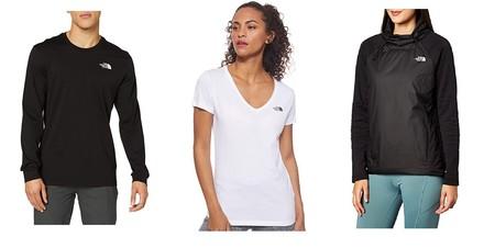 Chollos en tallas sueltas The North Face: camisetas y chaquetas para hombre y mujer al mejor precio en Amazon