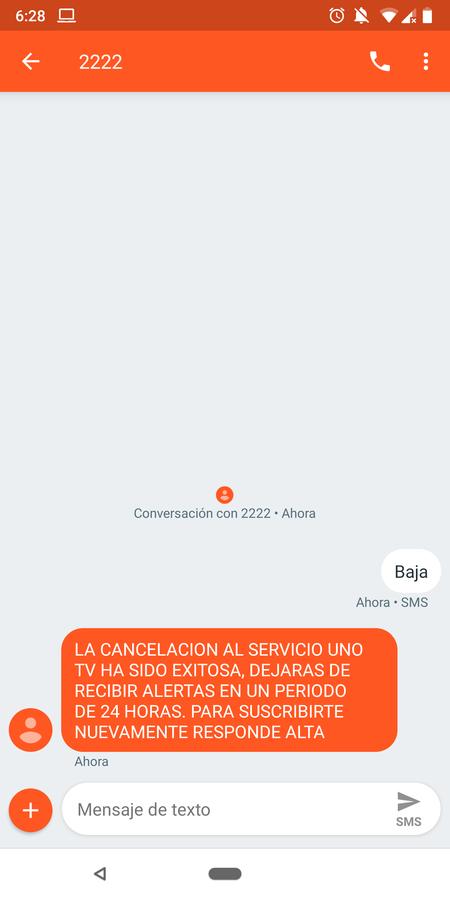 Baja Sms Unotv Mexico