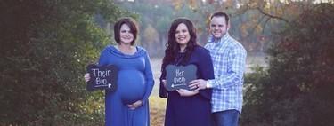 Su suegra, de 50 años, gestó y dio a luz a su bebé mediante gestación subrogada