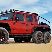 Esta locura es un Jeep Wrangler pick-up 6x6 con motor Hellcat de 717 CV, y se vende por 289.999 dólares