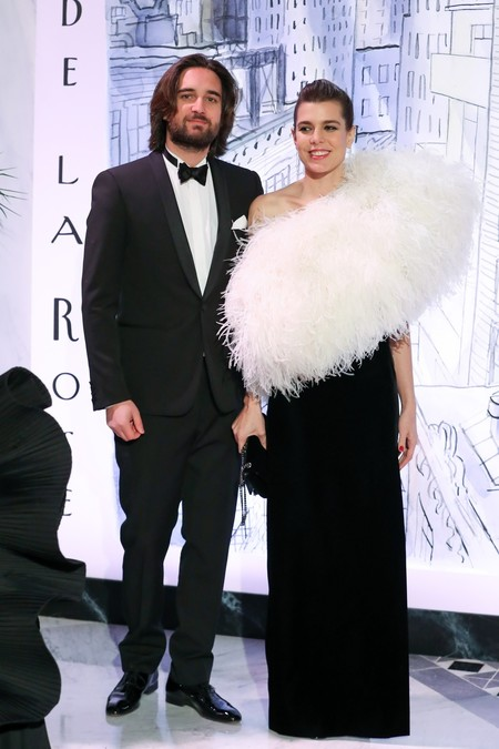 Baile De La Rosa Carlota Casiraghi Saint Laurent