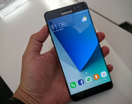 Samsung Galaxy Note 7 Pantalla