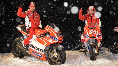 Ducati Desmosedici GP13 presentada en Madonna di Campiglio