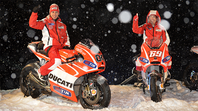 Andrea Dovizioso y Nicky Hayden