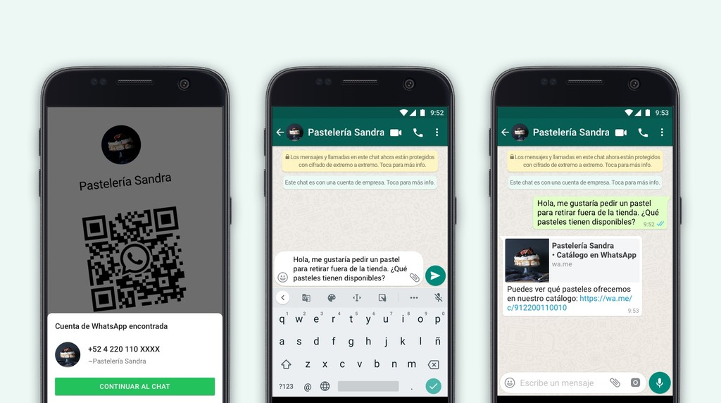 WhatsApp extiende los códigos QR a las empresas: contactar con una será tan fácil como escanear su código