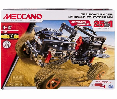 Meccano 25 Model Building Set Off Road Rally Jeep