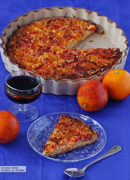 Tarta Naranja Sanguina