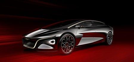 Aston Martin presenta el Lagonda Vision Concept, un coche eléctrico de lujo vestido por los mejores sastres