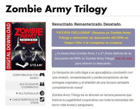 Zombie Army Trilogy Ya Tiene Fecha De Salida Para Ps4, Xbox One Y Steam 00