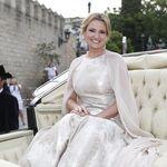 Ainhoa Arteta deslumbró en su boda con un espectacular vestido con capa
