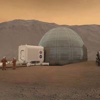 Si eres de los que quiere vivir en Marte, atención, esta casa en forma de iglú podría ser tu próximo hogar