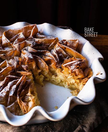 Ruffled pie