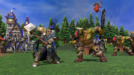 Warcraft Iii Reforged Human Vs Orc