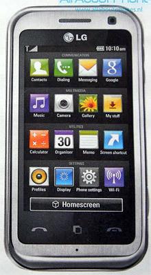 LG KM900, cuando la interfaz importa