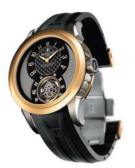 Tourbillon Automático de Titanio de Perrelet, edición de 20 relojes