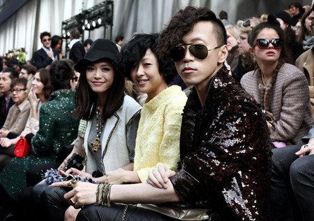 Front Row Chanel