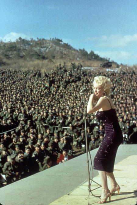ejército Marilyn Monroe