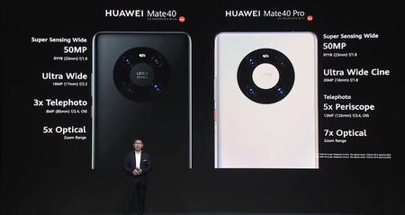 Huawei Mate 40 Pro Oficial Camaras