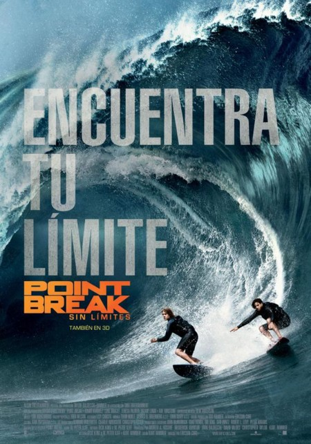 Cartel español de Point Break (Sin Límites)