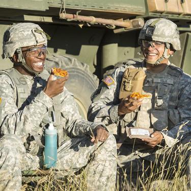 """El ejército de Estados Unidos ha logrado la pizza que aguanta tres años """"fresca"""" tras 20 años de investigación"""