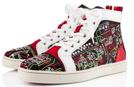 Las zapatillas más geeks de Louboutin