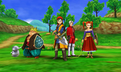 Ci7 3ds Dragonquest8journeyofthecursedking On The Offensive