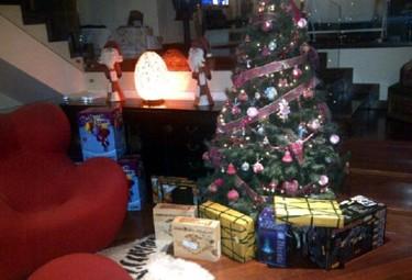 ¿Cómo decoran sus casas los famosos en Navidad?