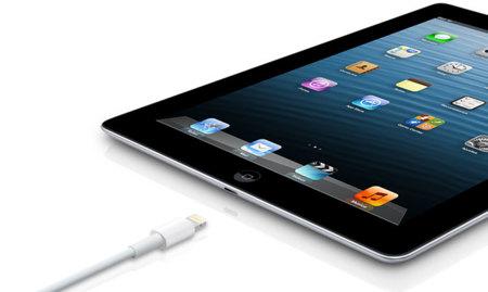 Conector Lightning del nuevo iPad 4