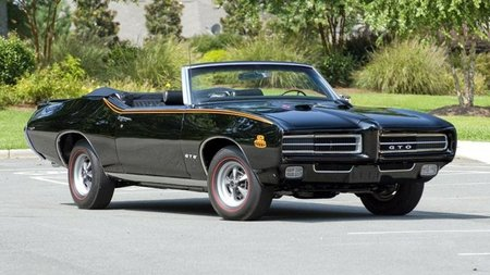 1969 Pontiac GTO The Judge Triple-Black, un muscle car único en el mundo