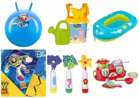 juguetes playa baratos