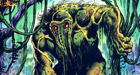 Man-Thing comic