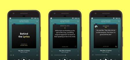 """Spotify para Android agrega su nueva característica """"Behind The Lyrics"""""""