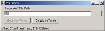 myTunes, haciendo fácil quitar el DRM a los ficheros AAC