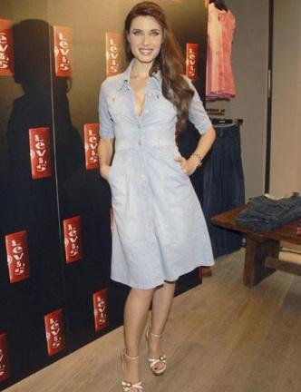 Pilar Rubio y otros famosos en la inauguración de una nueva tienda de ropa