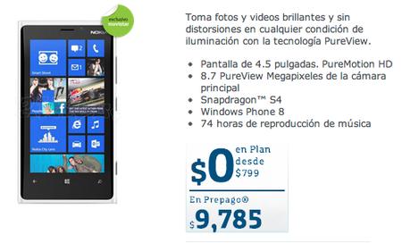 Lumia 920 Movistar