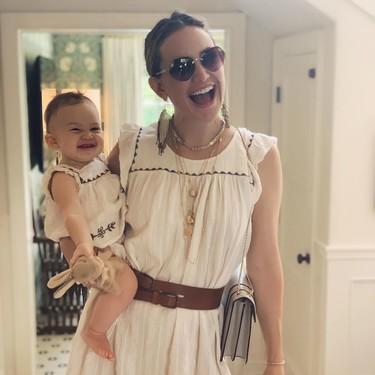 Así practica yoga Kate Hudson con su bebé y hace divertido lo que parece casi imposible