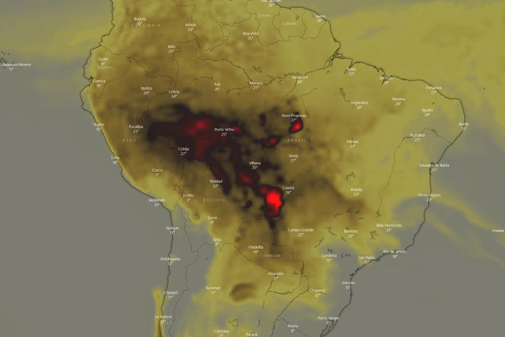Cómo sería un planeta carente el Amazonas: la oleada histórica de incendios en Brasil nos confronta al escenario que quedará tras ella
